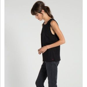 n: PHILANTHROPY STUDDED MUSCLE TANK